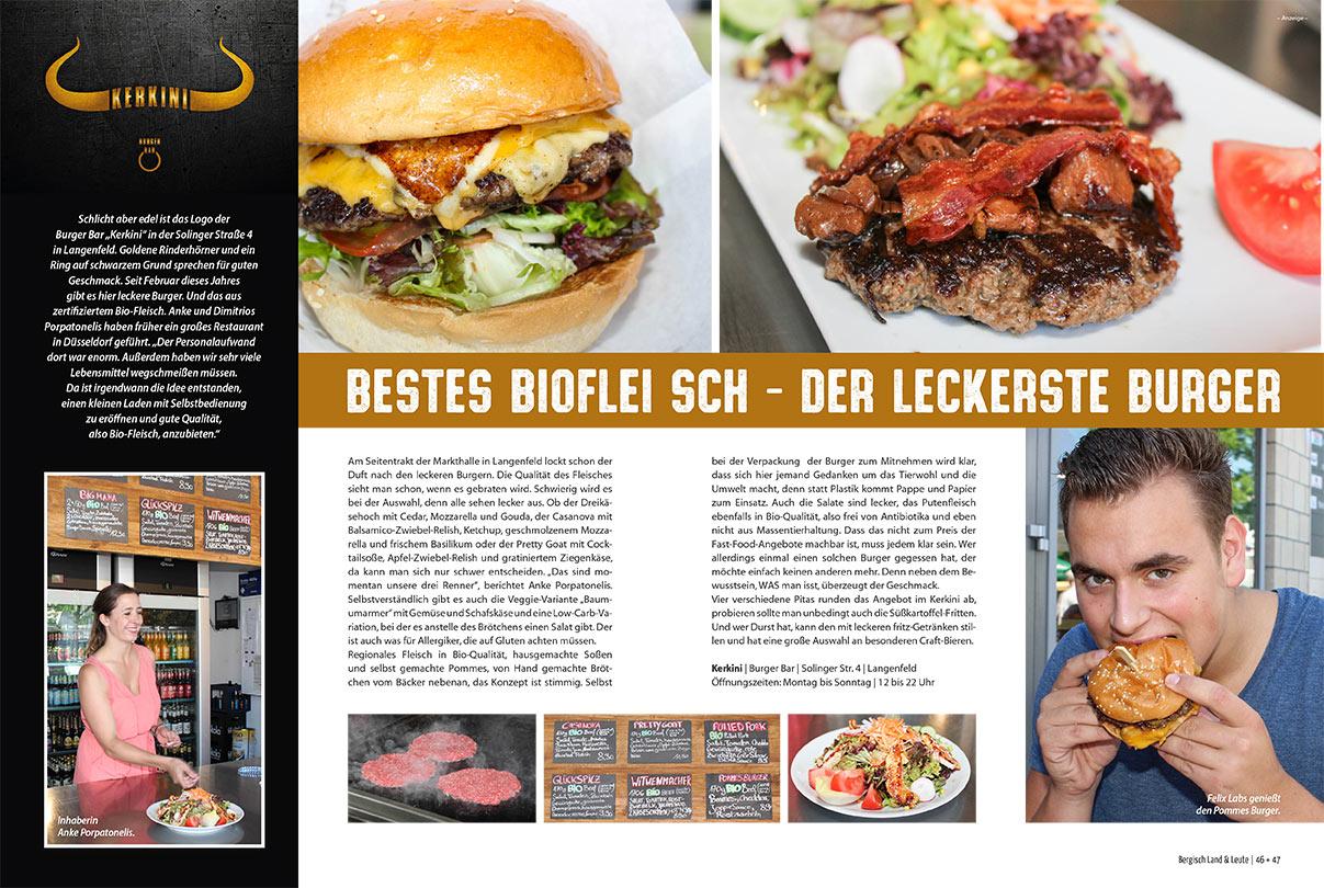 Kerkini Burger Bar in der Presse