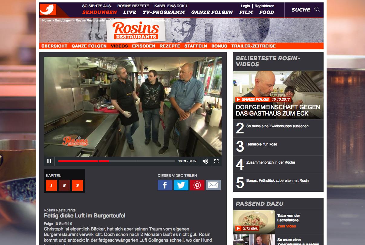 Rosins Restaurants - Kerkini Langenfeld